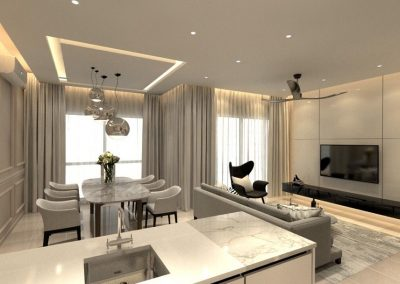 Modern Dining and Living